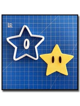 Super Étoile 101 - Emporte-pièce en Kit pour pâtes à sucre et sablés sur le thème Super Mario