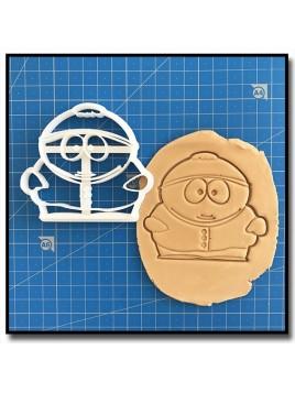 Cartman 001 - Emporte-pièce pour pâtes à sucre et sablés sur le thème South Park