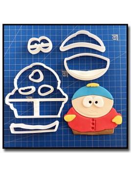 Cartman 101 - Emporte-pièce en Kit pour pâtes à sucre et sablés sur le thème South Park