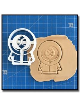 Kenny 001 - Emporte-pièce pour pâtes à sucre et sablés sur le thème South Park