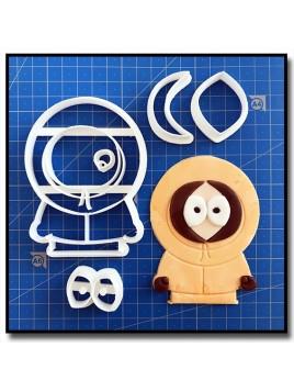 Kenny 101 - Emporte-pièce en Kit pour pâtes à sucre et sablés sur le thème South Park