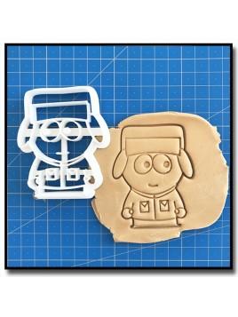 Kyle 001 - Emporte-pièce pour pâtes à sucre et sablés sur le thème South Park