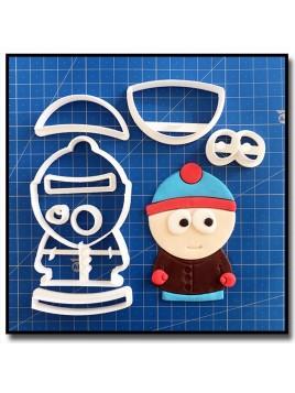 Stan 101 - Emporte-pièce en Kit pour pâtes à sucre et sablés sur le thème South Park