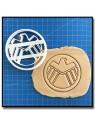 Avengers 002 - Emporte-pièce pour pâtes à sucre et sablés sur le thème Super-Heros