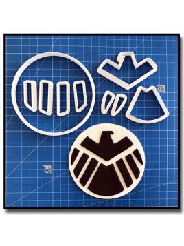 Avengers  101 - Emporte-pièce en Kit pour pâtes à sucre et sablés sur le thème Super-Heros