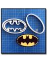 Batman 101 - Emporte-pièce en Kit pour pâtes à sucre et sablés sur le thème Super-Heros