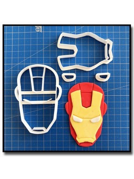 Iron Man 101 - Emporte-pièce en Kit pour pâtes à sucre et sablés sur le thème Super-Heros