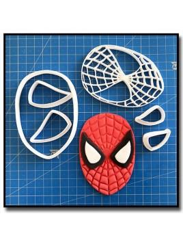 Spiderman 101 - Emporte-pièce en Kit pour pâtes à sucre et sablés sur le thème Super-Heros
