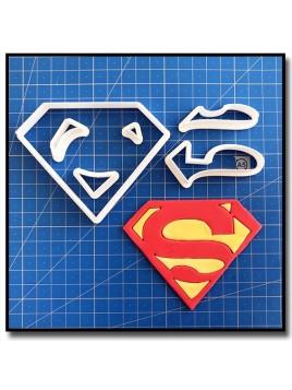 Superman 101 - Emporte-pièce en Kit pour pâtes à sucre et sablés sur le thème Super-Heros