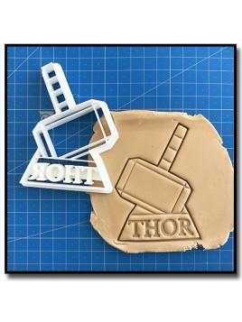 Thor 001 - Emporte-pièce pour pâtes à sucre et sablés sur le thème Super-Heros