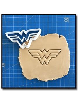 Wonder Woman 001 - Emporte-pièce pour pâtes à sucre et sablés sur le thème Super-Heros