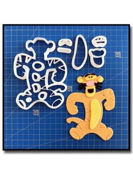 Tigrou 101 - Emporte-pièce en Kit pour pâtes à sucre et sablés sur le thème Winnie l'ourson
