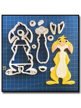 Coco Lapin 101 - Emporte-pièce en Kit pour pâtes à sucre et sablés sur le thème Winnie l'ourson