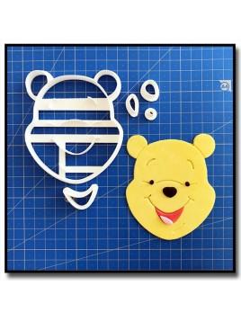 Winnie Visage 101 - Emporte-pièce en Kit pour pâtes à sucre et sablés sur le thème Winnie l'ourson