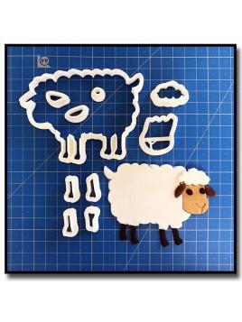 Mouton 101 - Emporte-pièce en Kit pour pâtes à sucre et sablés sur le thème Animaux de la ferme