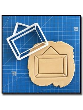 Tableau 001 - Emporte-pièce pour pâtes à sucre et sablés sur le thème Rentrée scolaire