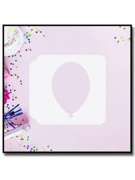 Ballon 901 - Pochoir pour pâtes à sucre et sablés sur le thème Anniversaire