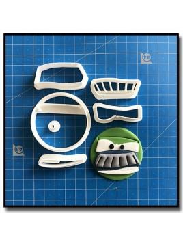Chick Hicks Cars Cupcake 101 - Emporte-pièce en Kit pour pâtes à sucre et sablés sur le thème Cars