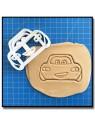 Flash McQueen Cars 001 - Emporte-pièce pour pâtes à sucre et sablés sur le thème Cars