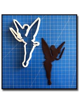Fée Clochette 201 - Emporte-pièce pour pâtes à sucre et sablés sur le thème Clochette et Peter Pan