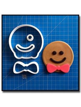 Gingerbread Cupcake 101 - Emporte-pièce en Kit pour pâtes à sucre et sablés sur le thème Noël