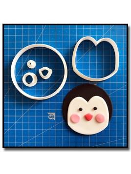 Pingouin Cupcake 101 - Emporte-pièce en Kit pour pâtes à sucre et sablés sur le thème Noël