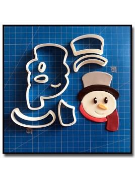 Bonhomme de Neige 102 - Emporte-pièce en Kit pour pâtes à sucre et sablés sur le thème Noël