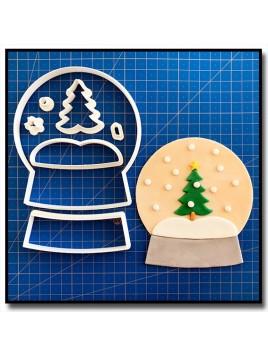 Boule de Neige 101 - Emporte-pièce en Kit pour pâtes à sucre et sablés sur le thème Noël