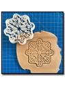 Etoile des Neiges 001 - Emporte-pièce pour pâtes à sucre et sablés sur le thème Noël