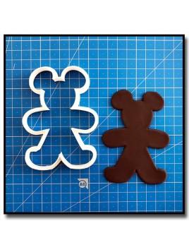 Mickey Gingerbread 201 - Emporte-pièce pour pâtes à sucre et sablés sur le thème Noël