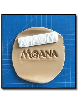 Moana 301 - Emporte-pièce pour pâtes à sucre et sablés sur le thème Vaiana / Moana