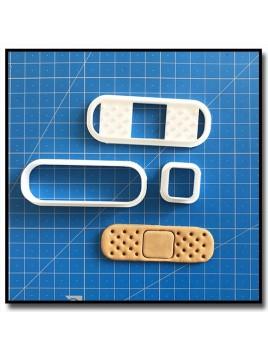 Pansement 101 - Emporte-pièce en Kit pour pâtes à sucre et sablés sur le thème Médical