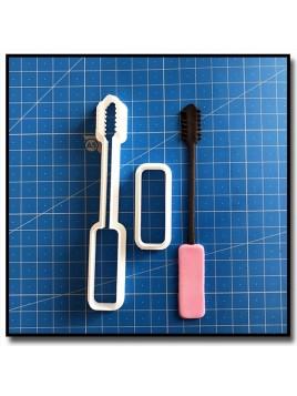 Mascara 101 - Emporte-pièce en Kit pour pâtes à sucre et sablés sur le thème Maquillage et Cosmetique