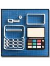 Palette de Maquillage 101 - Emporte-pièce en Kit