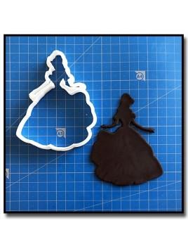 La Belle, La Belle et la Bête 201 - Emporte-pièce pour pâtes à sucre et sablés sur le thème La Belle et la Bête