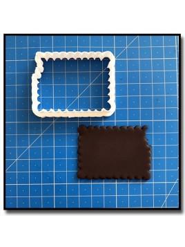 Biscuit Petit Beurre 203 - Emporte-pièce pour pâtes à sucre et sablés sur le thème Plaques & Formes