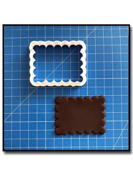 Biscuit Petit Beurre 202 - Emporte-pièce pour pâtes à sucre et sablés sur le thème Plaques & Formes