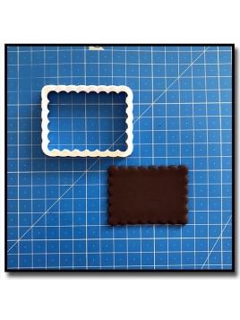 Biscuit Petit Beurre 201 - Emporte-pièce pour pâtes à sucre et sablés sur le thème Plaques & Formes