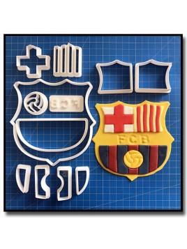 FC Barcelone 101 - Emporte-pièce en Kit pour pâtes à sucre et sablés sur le thème Football