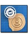 Fait Maison 004 - Emporte-pièce pour pâtes à sucre et sablés sur le thème Fait Main / Hand Made