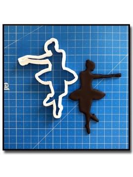Danseuse/Ballerine 205 - Emporte-pièce pour pâtes à sucre et sablés sur le thème Danse