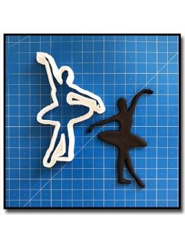 Danseuse/Ballerine 209 - Emporte-pièce pour pâtes à sucre et sablés sur le thème Danse