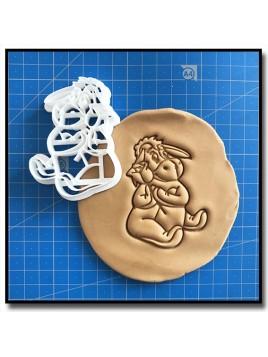 Bourriquet 002 - Emporte-pièce pour pâtes à sucre et sablés sur le thème Winnie l'ourson