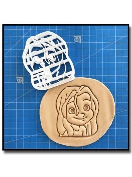 Tarzan enfant 001 - Emporte-pièce en Kit pour pâtes à sucre et sablés sur le thème Disney