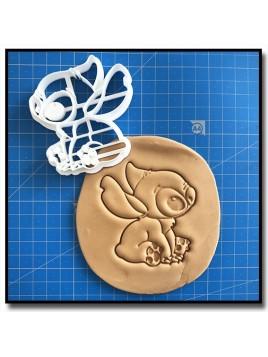 Stitch 001 - Emporte-pièce en Kit pour pâtes à sucre et sablés sur le thème Disney
