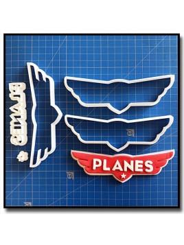 Planes 101 - Emporte-pièce en Kit pour pâtes à sucre et sablés sur le thème Disney