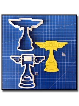 Piston Cup 001 - Emporte-pièce pour pâtes à sucre et sablés sur le thème Cars