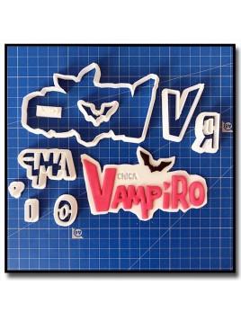 Chica Vampiro Logo 101 - Emporte-pièce en Kit pour pâtes à sucre et sablés sur le thème Films, Cinéma et TV