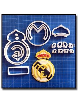 Real Madrid 101 - Emporte-pièce en Kit pour pâtes à sucre et sablés sur le thème Football