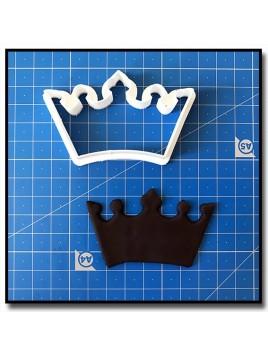 Couronne 202 - Emporte-pièce pour pâtes à sucre et sablés sur le thème Rois et Reines